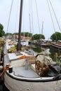 Boat in Enkhuizen Royalty Free Stock Photo