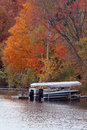 Boat In The Fall