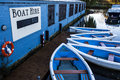 Boat Hire Royalty Free Stock Photo