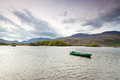 Boat on the Killarney lake Royalty Free Stock Photo