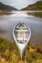 Boat at the Killarney lake Royalty Free Stock Photography