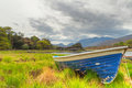 Boat in Killarney National Park - Ireland Stock Images