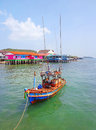 Boat in koh larn near pattaya thailand Stock Images