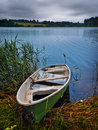 Boat at the lake Royalty Free Stock Photos