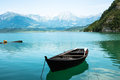 Boat in lake Royalty Free Stock Photo