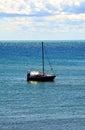 Boat in Livorno, Tuscany, Italy Royalty Free Stock Photo