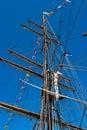 Boat mast Royalty Free Stock Photo