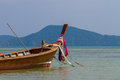 Boat in phuket thailand long tailed ruea hang yao Royalty Free Stock Image