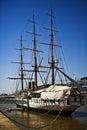 The Boat of Puerto Madero Royalty Free Stock Photo