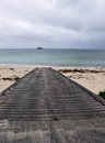 Boat Ramp at Hamelin Bay Royalty Free Stock Photo