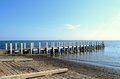 Boat ramp and Pier Royalty Free Stock Photo