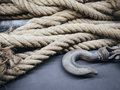 Boat Rope With Hook Object