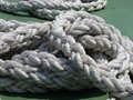 Boat ropes Royalty Free Stock Photography