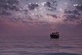 Boat_sea 图库摄影
