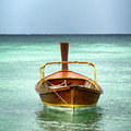 Boat at sea thailand taxi Royalty Free Stock Photography