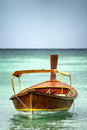 Boat at sea thailand taxi Stock Photography