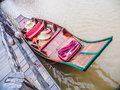 Boat small thai in the river Stock Photography