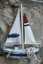 Boat souvenir interesting from summer holidays Royalty Free Stock Photos