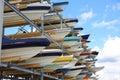 Boat Storage Royalty Free Stock Photo