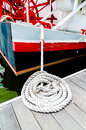 Boat Tie Royalty Free Stock Photo