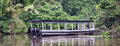 A Boat in Tortuguero National Park Royalty Free Stock Photo