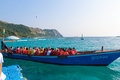 Boat trips vacation thailand beautiful life holiday happiness Stock Photography