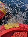 Boat Water Splash