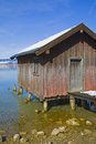Boathouse Stock Photography