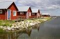 Boathouse In Sweden.