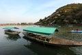 Boating in Arashiyama Stock Image