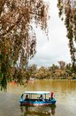 Boating in Burnham Park Reservation, Baguio, Phillippines Royalty Free Stock Photo