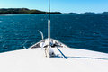 Boating in the Whitsundays Stock Images