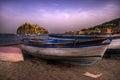 Boats in beach Ischia Ponte Italy. Royalty Free Stock Photo