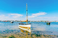 Boats with blue sky Royalty Free Stock Photo