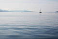 Boats on a calm sea Royalty Free Stock Images