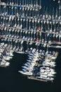 Boats at dock. Stock Photos