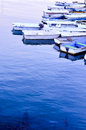 Boats at dock in san diego bay in california Royalty Free Stock Image