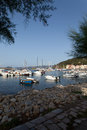 Boats At Dusk, Marciana Marina, Elba Island Stock Photos