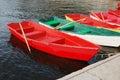 Boats at lake Royalty Free Stock Photo