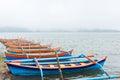 Boats on a lake Royalty Free Stock Photos