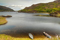 Boats on lake in Killarney National Park Stock Images