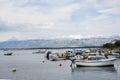 Boats in Nin, Croatia Royalty Free Stock Photo