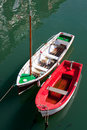 Boats in Ondarroa Stock Photo