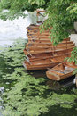 Boats on the river, UK Royalty Free Stock Photo