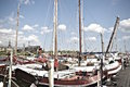 Boats in Stockholm, Sweden Royalty Free Stock Photo