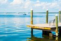 Boats on the Water in Key Largo Royalty Free Stock Photo