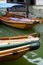 Boats in water town in China Stock Images