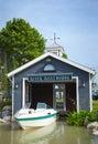 Boatshed Royalty Free Stock Photo