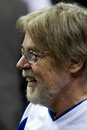Bob seger attends a detroit pistons game in auburn hills michigan Stock Images