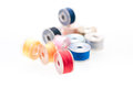 Bobbin thread close up Royalty Free Stock Photos